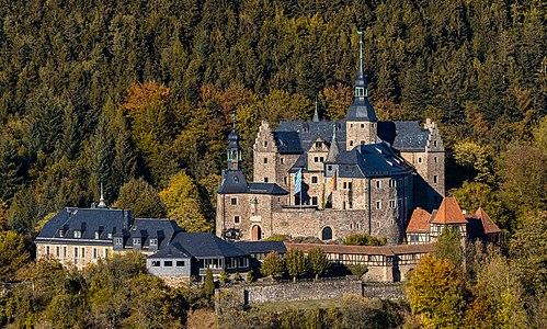 Burg Lauenstein in Oberfranken