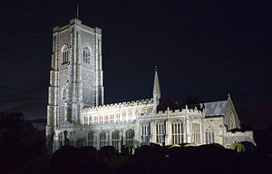 Lavenham - Image: Lavenham church of St Peter and St Paul