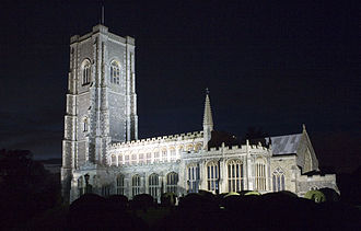 Wool church - St. Peter and St. Paul, Lavenham, Suffolk