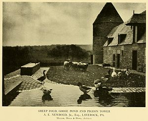 "Laverock, Pennsylvania - ""Laverock Farm"" in 1922."