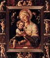 Lazzaro Bastiani - Madonna and Child in Painted Frame - WGA1491.jpg