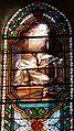 Le Bugue église vitrail Ste Scholastique détail (2).JPG