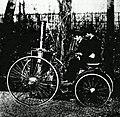 Le premier quadricycle à vapeur de Dion (1883).jpg