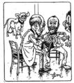 Le vaccin de la trahison - Strekoza - 1898.png