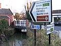 Left to Saxmundham and Badingham, straight on for Wickham Market - geograph.org.uk - 1125093.jpg