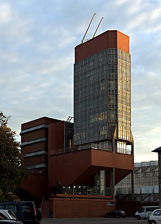 1963 in architecture - Leicester University's Engineering Building