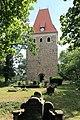 Leipzig Thekla - Friedhof Leipzig-Thekla + Kirche Hohen Thekla 02 ies.jpg
