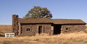 Touchet River - Lamar Cabin