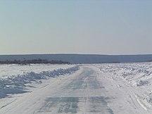 Sacha-Jacuzia-Clima-Lena River Ice Road