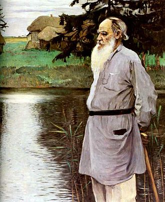 How Much Land Does a Man Need? - Image: Leo Tolstoy by Nesterov