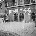 Leus Hirohito SS op muur van Koninklijk Instituut voor Tropen , Amsterdam, Bestanddeelnr 925-0192.jpg