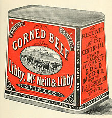 Libby Mcneill Libby Corned Beef 1898