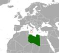 Libya Malta Locator.png