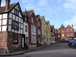 Dean of Lichfield - The cathedral close at Lichfield