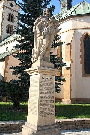 Janko Kráľ - Janko Kráľ's monument in Liptovský Mikuláš