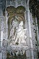 Lisbonne-Couvent des Hiéronymites-Le roi en prières-1967 08 03.jpg