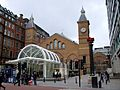 Liverpool Street station entrance Bishopsgate.JPG