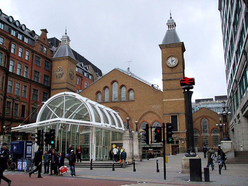 File:Liverpool Street station entrance Bishopsgate.JPG