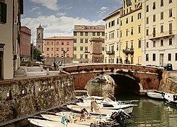 Cảnh quân Venice của Livorno