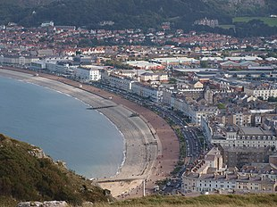 Llandudno seen from the Great Orme