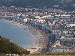 Llandudno seaside resort in Wales