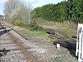Llanwrda station's abandoned second platform - geograph.org.uk - 390619.jpg