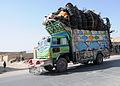 Loaded jingle truck in Afghanistan.JPG