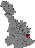 Localització de Cornellà de Llobregat