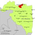Localització de Sant Rafel del Maestrat respecte del Baix Maestrat.png