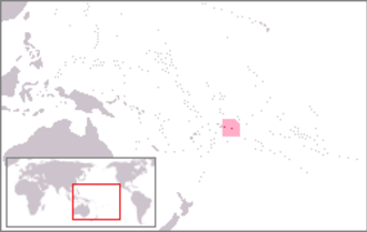 Outline of American Samoa - The location of American Samoa