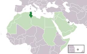 تونس الخضراء 290px-Location_Tunisia_AW