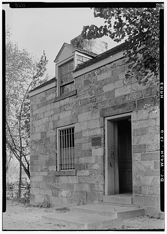 Lockkeeper's House, C & O Canal Extension - Image: Lock Keeper's House, Seventeenth Street & Constitution Avenue 311937pv