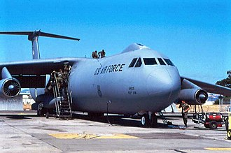 19th Airlift Squadron - 19th Squadron C-141B Starlifter