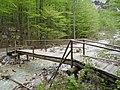 Logarska dolina - most na potoku Črna, sastavnici Savinje.jpg