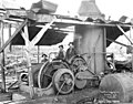 Logging crew and donkey engine, Hamilton Logging Company, ca 1912 (KINSEY 252).jpeg