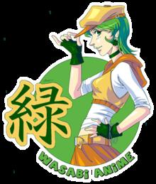 Wasabi Anime - W...K Anime Logo