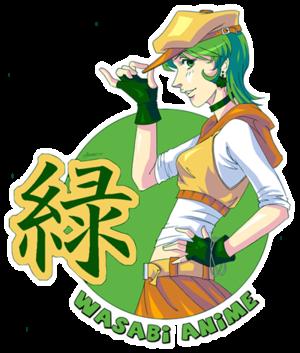 Wasabi Anime - Image: Logo for Wasabi Anime