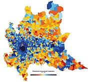La Cartina Fisica Della Lombardia.Lombardia Wikipedia