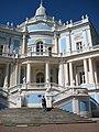 Lomonosov. Russia. The palace and park complex. Sliding Hill Pavilion.JPG