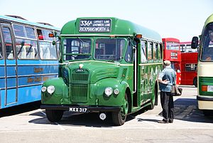 London Transport bus GS17 (MXX 317), 2010 North Weald bus rally.jpg