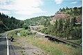 Looking Along Recreation Road, Montana, 1991. 01.jpg