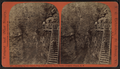 Looking up the Chasm from cliff opposite Table Rock, Ausable Chasm, N.Y, by T. G. Richardson.png