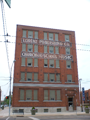 The Lorenz Corporation - The Lorenz Music Company's office at 501 East 3rd Street in Dayton, Ohio