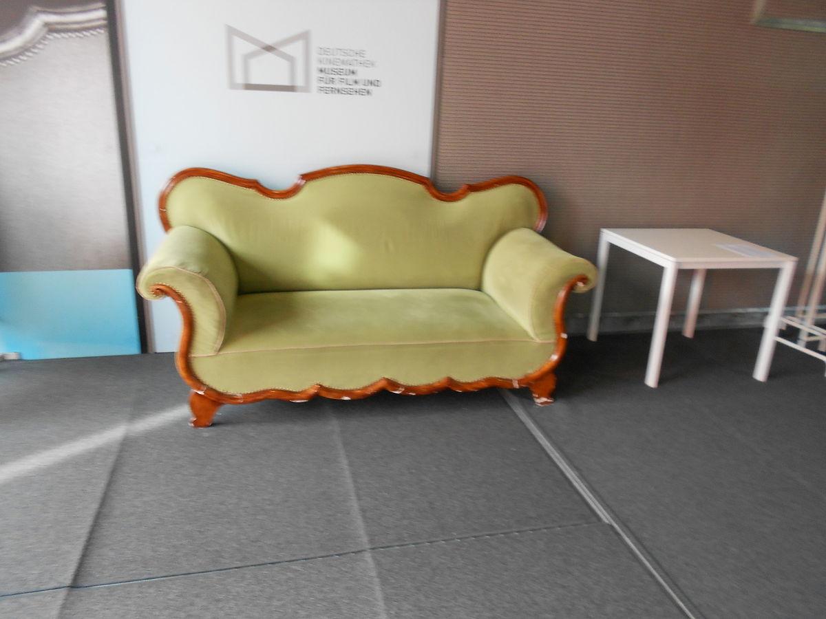 Couch wikipedia for Sofa orientalischer stil