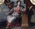 Louis Counet, Allégorie de la Concorde ou de la Science (1719) dessus-de-porte painting in the Salle du Conseil communal of the Liège townhall.jpg