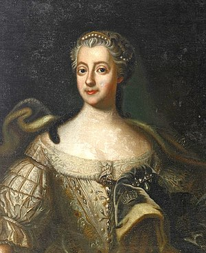 Louisa Ulrika of Prussia - Louisa Ulrika of Prussia by Carl Fredrich Brander.