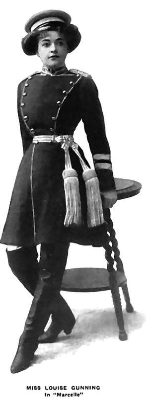 Louise Gunning - Louise Gunning as Marcelle, 1908