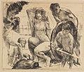Lovis Corinth Die Waffen des Mars Lithographie 1914.jpg