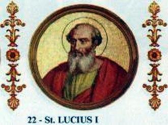 Pope Lucius I - Image: Lucius I