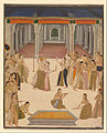 Lucknow, Uttar Pradesh, India - The emperor Jahangir celebrating the Festival of Holi with the ladies of the zenana - Google Art Project.jpg